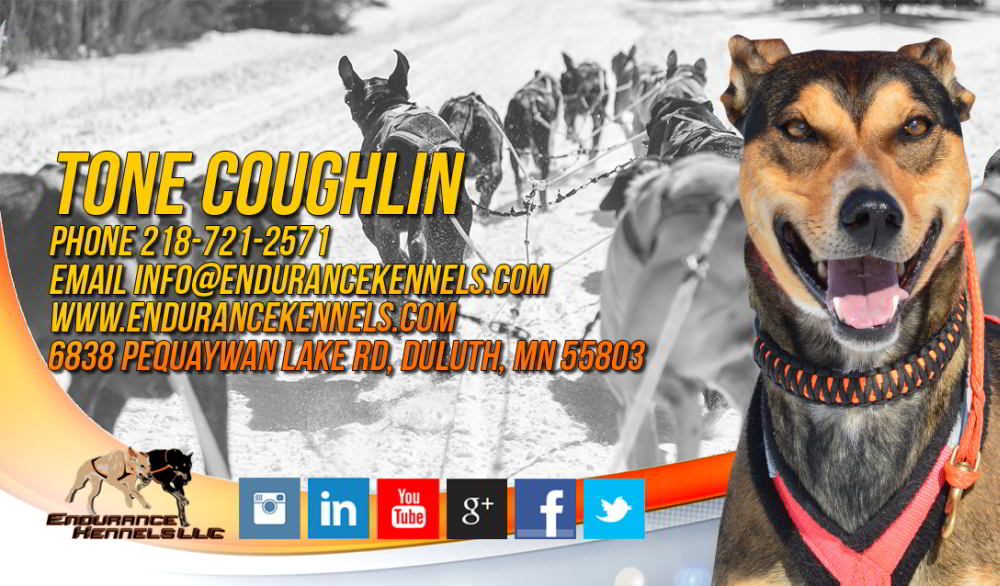 eurohound sprint racing sled dogs Tone Coughlin