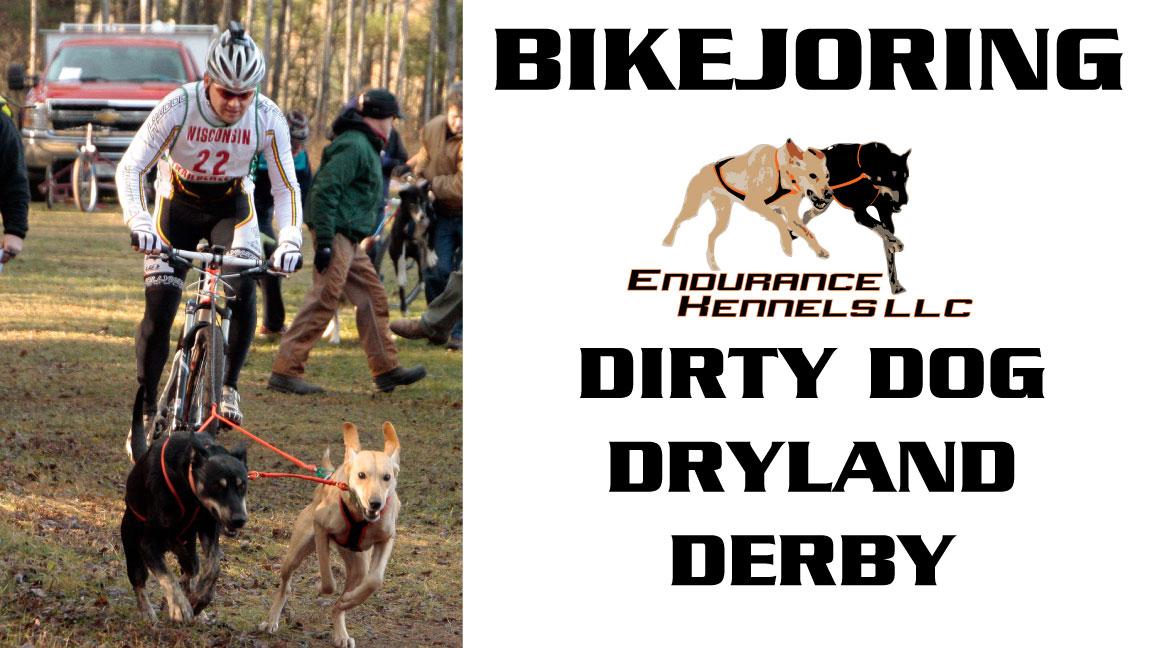 bikejoring alaskan husky hound cross eurohound